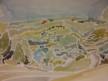 """""""Looking Out Over Shiloh Hills - Burlington, WI"""" $100"""