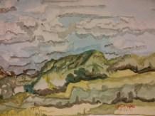 """""""Across the Bypass - Burlington, WI"""" Landscape $100"""