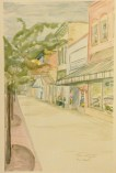 """Main and Broad,"" Lake Geneva, WI, Watercolor on Paper, 18"" x 12"", $150"