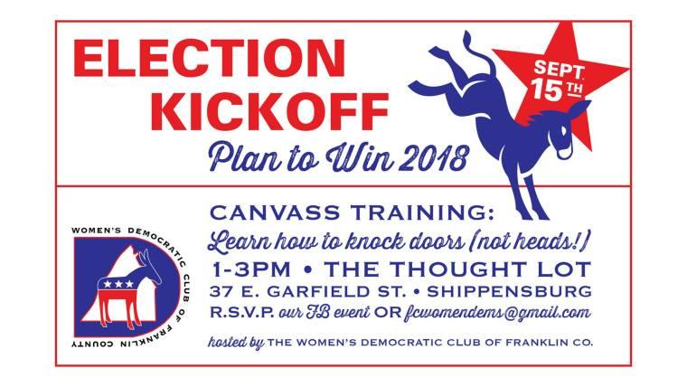 Election Kickoff