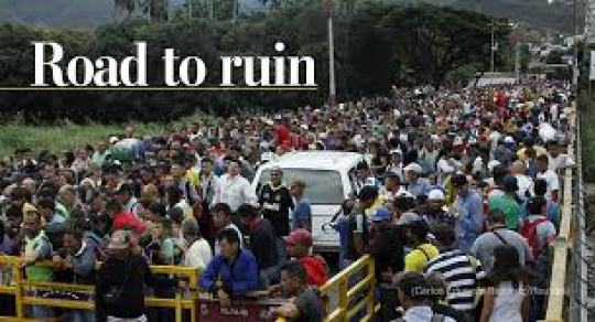 Venezuela's refugee exodus is the biggest crisis in the hemisphere ...