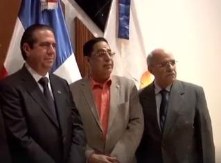 Rector Almánzar participa en conferencia ministro MITUR.Audio