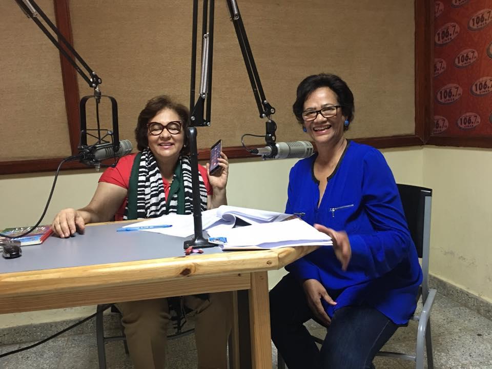 Académica Utesiana Nicelia Fernández y equipo festejan diez año de espacio radial –MUJERES EN DESARROLLO-Audio