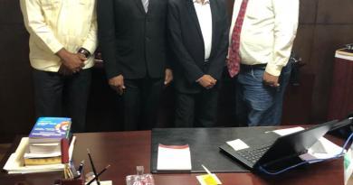 Presidente de Fots Dominicana sostiene encuentro con Rector UNEV en Santo Domingo. Audio
