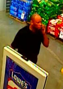 black male suspect 1