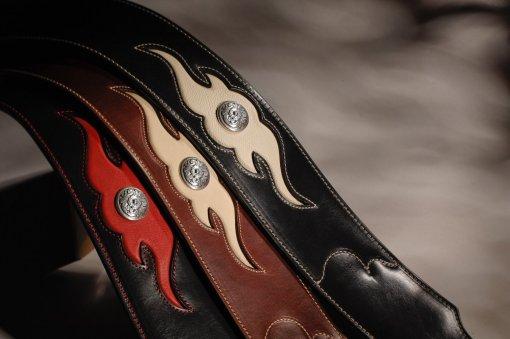 Sculpted Ball Glove Guitar Strap
