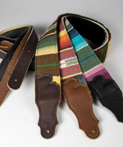 "2"" Saddle Blanket Guitar Strap"
