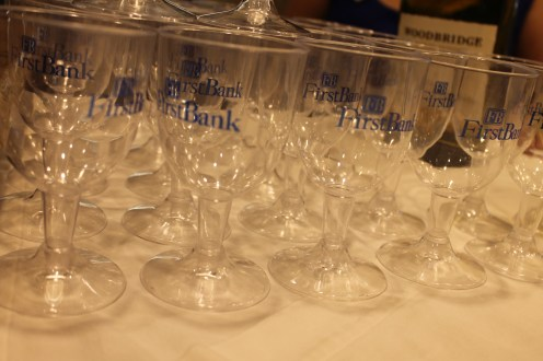 FirstBank held a pre-event reception.