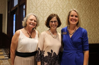 (L-R) Gina Wilson, Paula Harris and Shanon Nehus