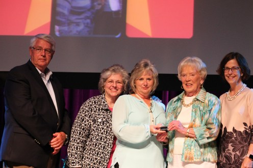 County Mayor Rogers Anderson, Debbie Henry, Diane Giddens, Anne T. Rutherford, and Paula Harris