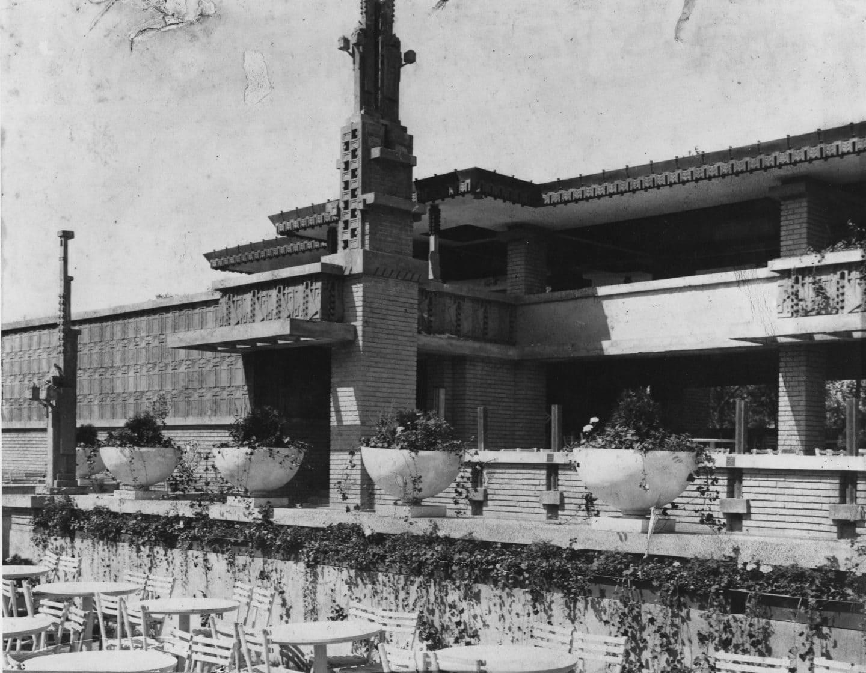 Midway Gardens Frank Lloyd Wright Foundation