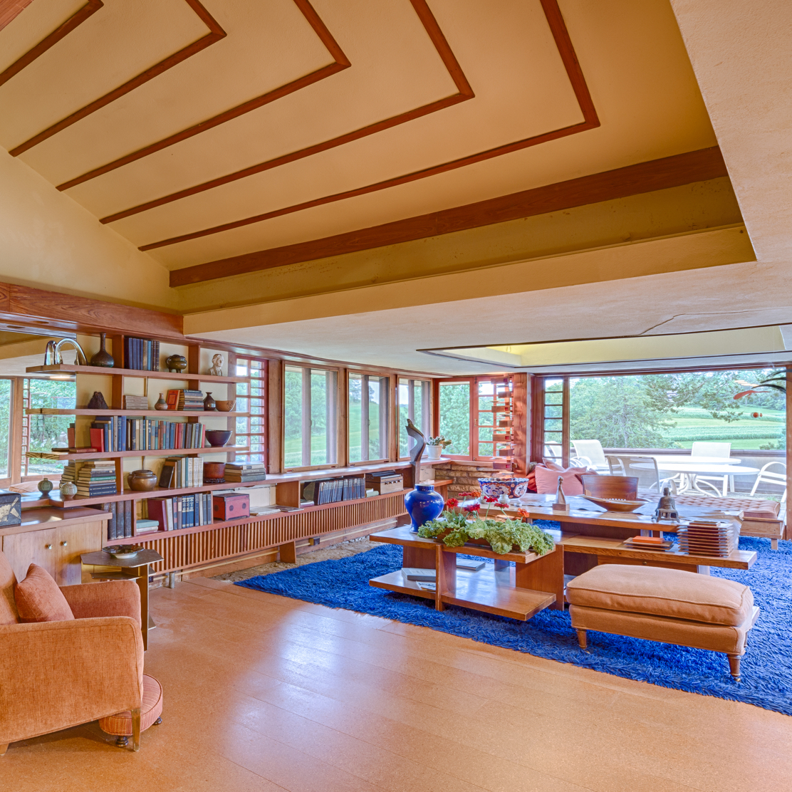 Peek Inside 7 Iconic Frank Lloyd Wright Buildings