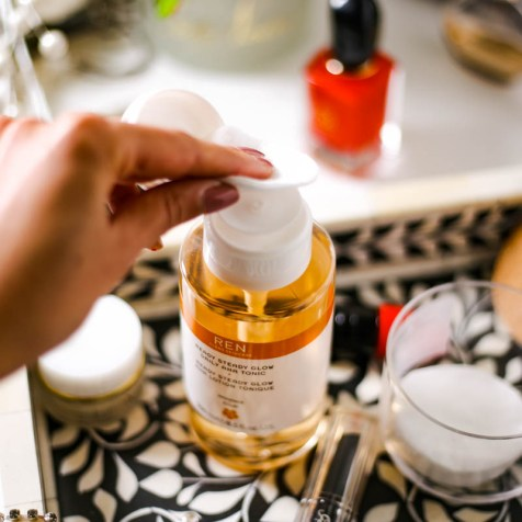 The Basic Skincare Steps you Need in your Routine | feat application method for Ren Ready Steady Glow Tonic_