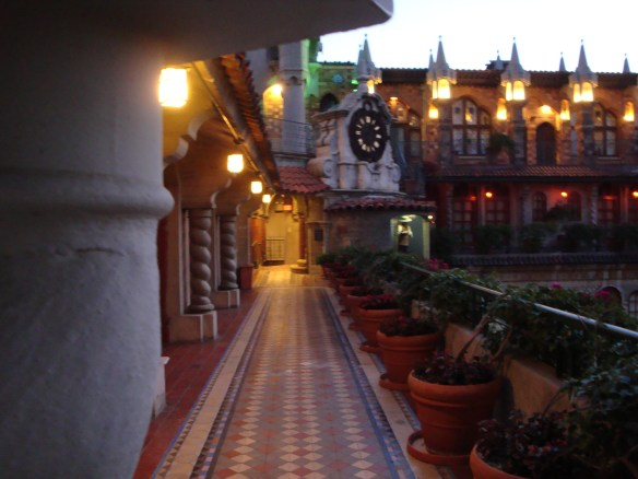 Peaceful Morning at the Mission Inn