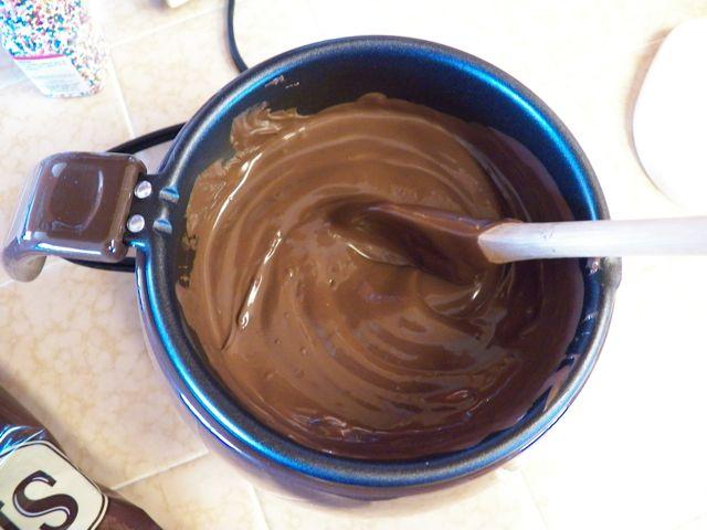 Melting Chocolate in Wilton Chocolate Pro