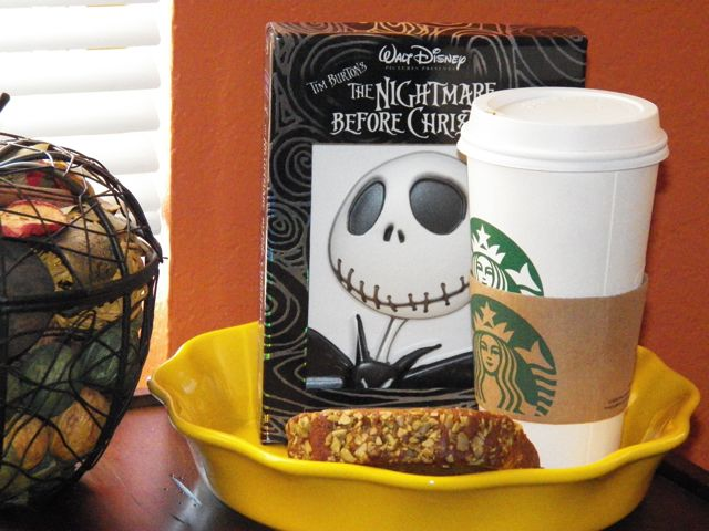 Pumpkin Spice Latte, Pumpkin Bread and the Nightmare Before Christmas