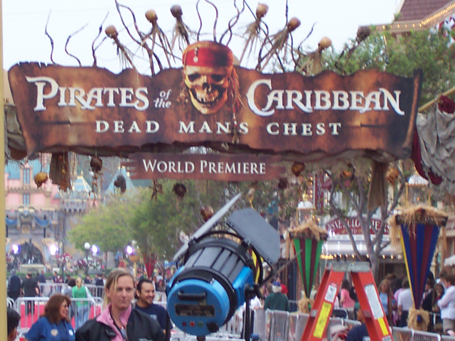 Premiere of Disney's Pirates of the Caribbean: Dead Man's Chest