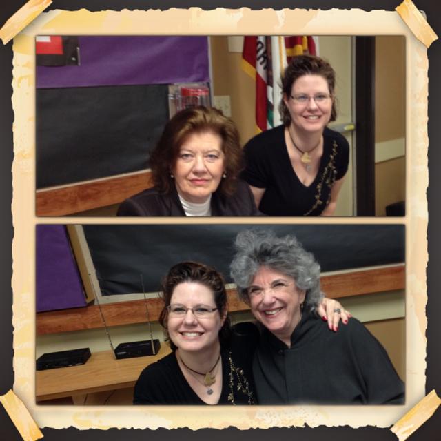 Meeting Anne Perry & Victoria Zackheim