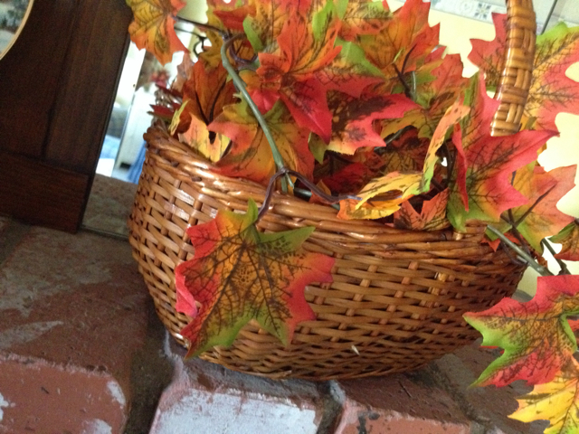 Leaves in a Basket