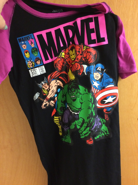 Marvel Avengers PJs. How could I not?
