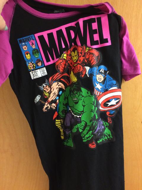 Marvel Avengers PJs. How could I not?