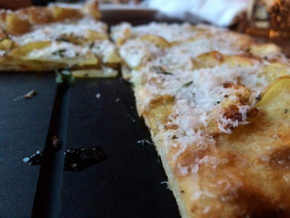 Potato Pizza, seriously? Yes. At Serious Pie.