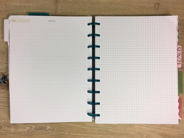 Happy Planner: Conference Style - Writing Pages