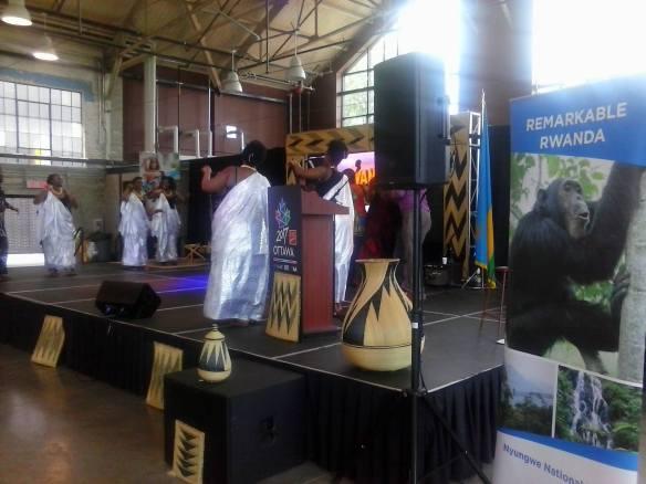 Ottawa Welcomes the World: Rwanda [photo credit: W. Kendall]