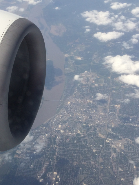 Frankly, My Dear . . . Flying over the Mighty Mississippi!