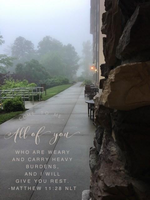 Frankly, My Dear . . . : Matthew 11:38 NLT