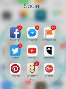 Social Media Selections