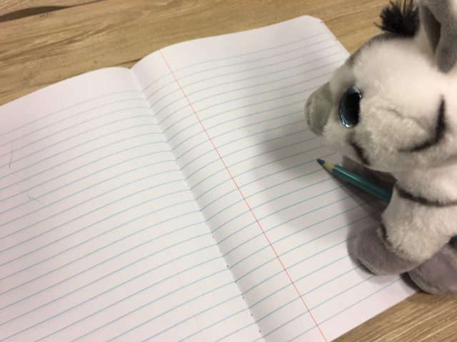 Frankly, My Dear . . . : BEE the Zebra has a plan