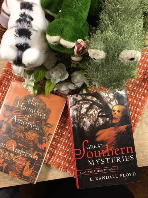 Frankly, My Dear . . . : Two Books to Read The Haunting of America by Jean Anderson, Great Southern Mysteries by E Randall Floyd