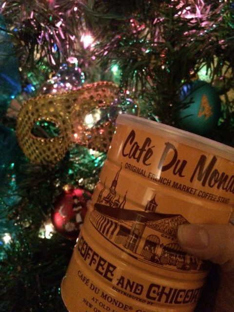 Frankly, My Dear . . . : Merry Christmas with Cafe du Monde