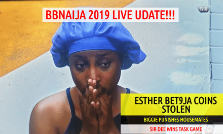 Esther 400 Bet9ja Coins Stolen & Biggie PUNISH Housemates