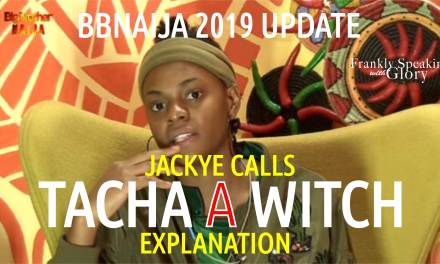 BBNaija 2019 Live Updates: Jackye Explains Calling Tacha a Witch & Tacha Says Seyi is Strategic