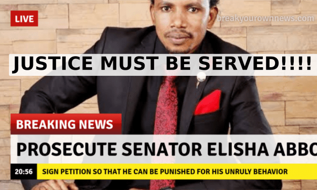 SENATOR ELISHA ABBO Assaults a woman in a S3X TOY SHOP in ABUJA    SENATE ABBO needs to be CAGED