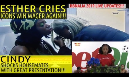 ESTHER CRIES AS TEAM ICONS WIN WAGER AGAIN