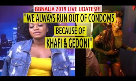 Thelma SAYS KHAFI & GEDONI HAVE SEX EVERY NIGHT | Omashola Frodd SETTLE