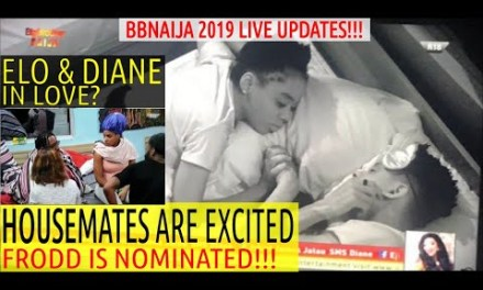 BBNaija 2019 LIVE UPDATES | HOUSEMATES EXCITED ELO REPLACED VENITA WITH FRODD | ELO & DIANE IN LOVE?