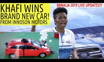 KHAFI WINS BRAND NEW CAR FROM INNOSON MOTORS!