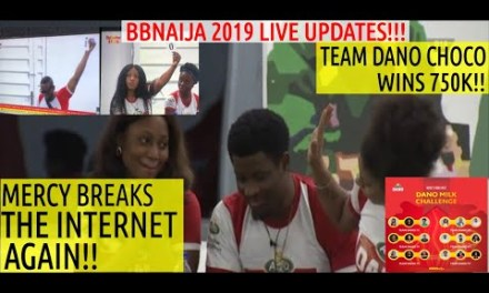 BBNaija 2019 LIVE UPDATES | MERCY GOES SAVAGE ON OMASHOLA  | TEAM DANO CHOCO WIN DANO MILK TASK 750K