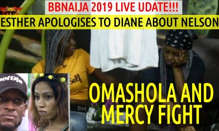 Esther APOLOGIZES TO Diane About Nelson & Omashola and Mercy FIGHT