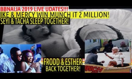 BBN Saturday Night Party 2019 | SEYI & TACHA SLEEP TOGETHER | IKE & MERCY WIN 2MILLION MUNCH