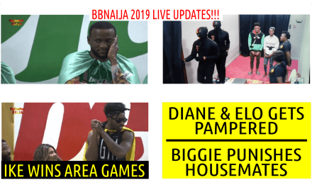 BIGGIE PUNISHES HOUSEMATES  | DIANE & ELO GET PAMPERED