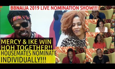 10TH LIVE NOMINATION SHOW: KHAFI, OMASHOLA, FRODD, ELO, VENITA NOMINATED