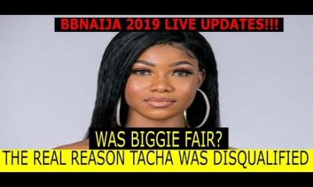 THE REASONS TACHA WAS DISQUALIFIED & WAS BIGGIE FAIR?