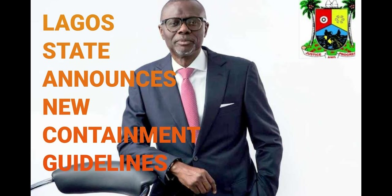 LAGOS STATE ANNOUNCES NEW GUIDELINES | GOVERNOR BABAJIDE SANWO OLU SPEAKS