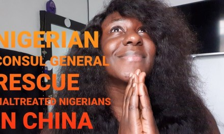 MALTREATED NIGERIANS IN CHINA RESCUED BY NIGERIAN CONSUL GENERAL