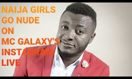 WATCH MC GALAXY INSTAGRAM VIRAL VIDEO on IG LIVE